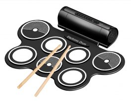 Electronic Drum with Speaker – 可捲曲電子鼓 – S06152