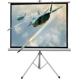 60″ 便攜式投影儀幕布連支架 – 60″ Projection Screen with Three Leg Stand – T0126