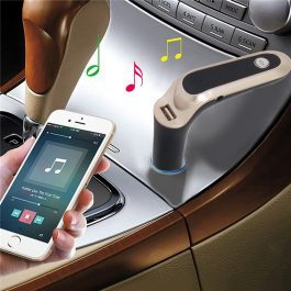 In Car Hands Free Bluetooth Music FM Transmitter Kit – 藍芽車載音樂播放器 免提 – S2522
