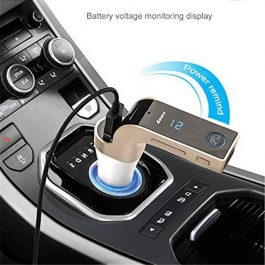 Wireless Bluetooth Car Kit with USB Car Charger – USB Flash Drives / TF Music Player – S2530