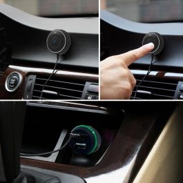 Bluetooth Hands-free Car Kit with NFC Function 2.1A USB Car charger +3.5mm AUX – S2531