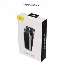 In Car Hands Free Bluetooth Music FM Transmitter Kit – 藍芽車載音樂播放器 免提 – S2541
