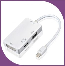 Mini Display Port to VGA+DVI+HDMI 支持4K*2K mini DP – S2917