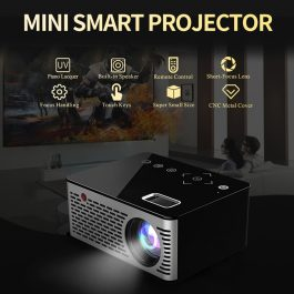 HD Mini LED Projector with Touch Control – S3002