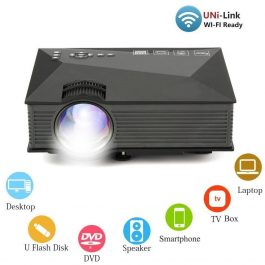 Wifi Wireless 1800 lumens Multimedia Led Projector S3005