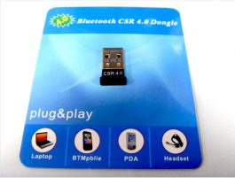 NEW – Bluetooth CSR 4.0 Dongle – 藍芽4.0 適配器 – S0602