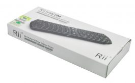 Rii mini i24 Multifunction 2.4GHz Mini Wireless Air Mouse Keyboard Combo – S0610