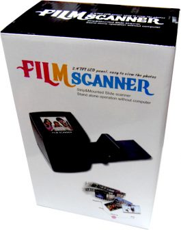 菲林底片掃瞄器 – 2.4 LCD Digital 35mm Portable Film Scanner&Film Converter Photo Scanner – S0613