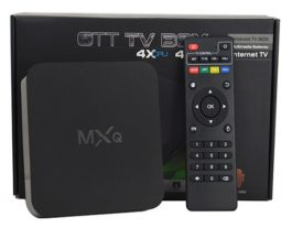 MXQ TV BOX Quad Core Android 4.4 Kitkat 1080p 1GB DDR3 + 8GB WIFI Airplay Miracast – S06136
