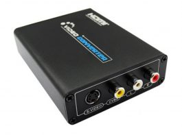 HDMI to AV / S-Video Converter – HDMI轉AV/S端子高清視頻轉換器 S06150