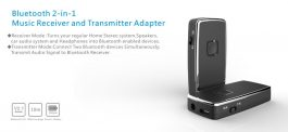 2 in 1 Bluetooth Music Transmitter and Receiver – 2合1藍芽無線音頻發射/接收器 – S06153
