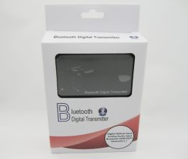 Bluetooth 4.0 Music Transmitter Aptx – Toslink, Digital optical coaxial, Analog 3.5mm output – S06156