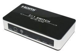 High Performance 3×1 HDMI Switch – Supports PIP, 4K×2K, 3D, Deep Color – S06157