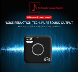 HiFi Bluetooth Audio Receiver – CSR APTX with Mircphone – Connecting 2 Speakers at a time – S06159