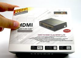 HDMI Audio Extractor – HDMI TO HDMI+Audio (SPDIF+L/R) – Ref S0657