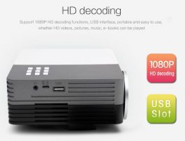 Mini LED HD Projector – Powered by USB – 迷你高清LED 投影機 – 可以USB取電 – Ref S0696
