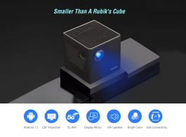 Wireless Dual Band 2.4G/5G Wifi DLP LED Pocket Mini Projector Home Entertainment – S3007